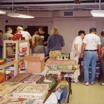 The convention's swap meet was expanded into a second room this year. A good mix of Marx, from playsets to trains to tin toys, was displayed at the show. Many attendees were able to take a few new treasures home with them, too!