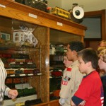 Troops 575 & 389 from the Cuyahoga Valley District in Greater Cleveland Council, touring the museum's antique trian exhibits, Nov. 2008