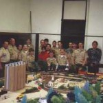 The first troop to earn their Railroading Merit Badge with us, in 2000 (Troop #29 from Wheeling, WV)
