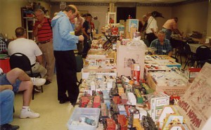 The swap meet brought out a great variety of Marx, from trains to playset items to toys. There was something here for everyone!