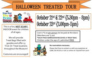 Treated Tour 2016 October 21,22, &23 Fun for All