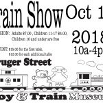 LCCA Train Show at the Museum (oct. 14, 2018)